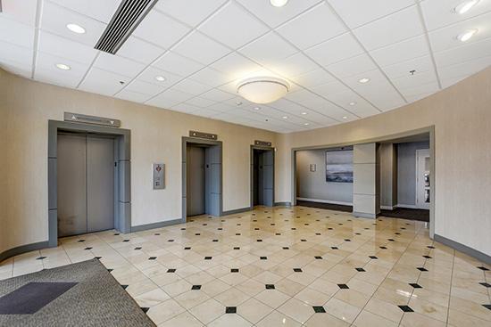 new lobby finishes